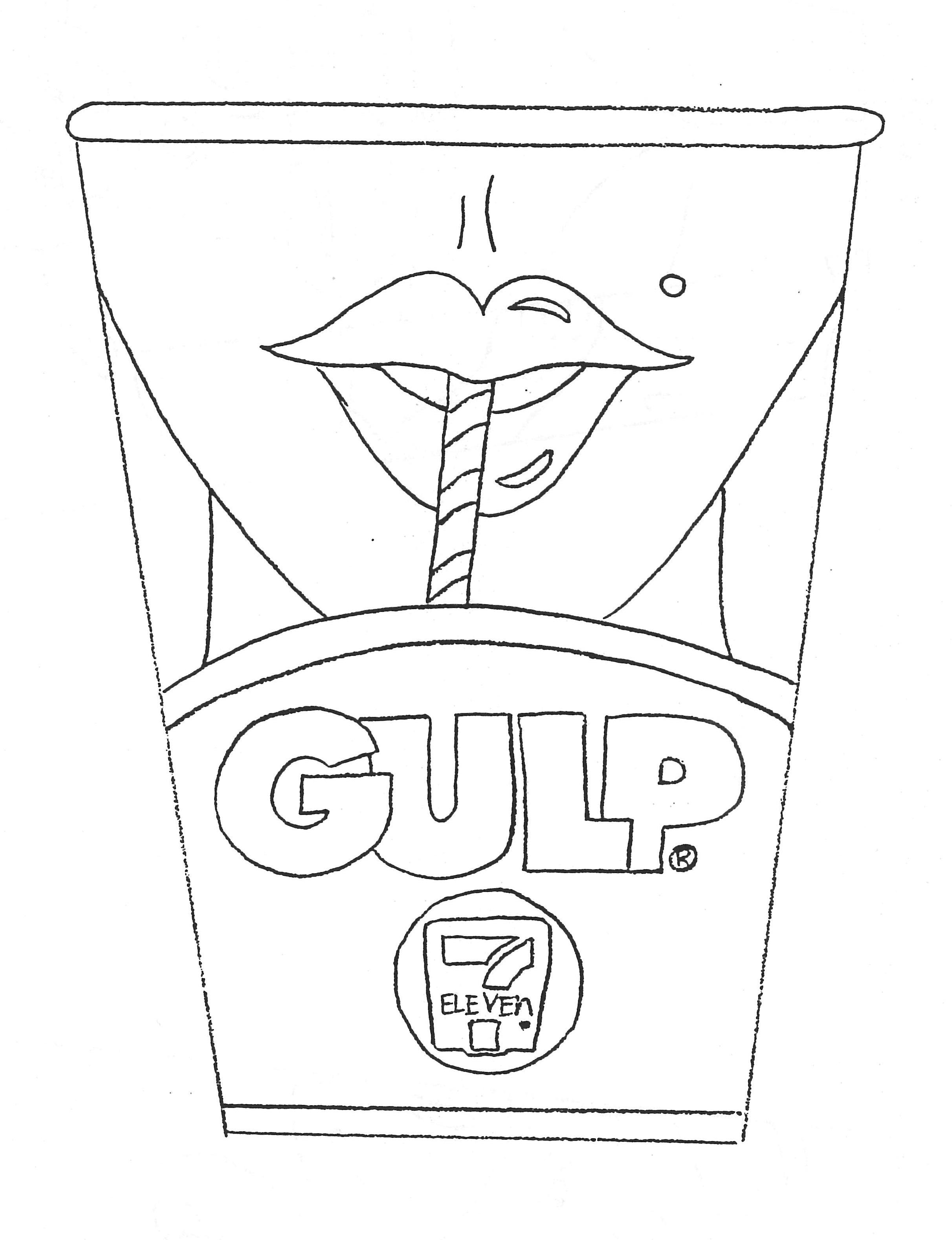 Gulp cup sketch