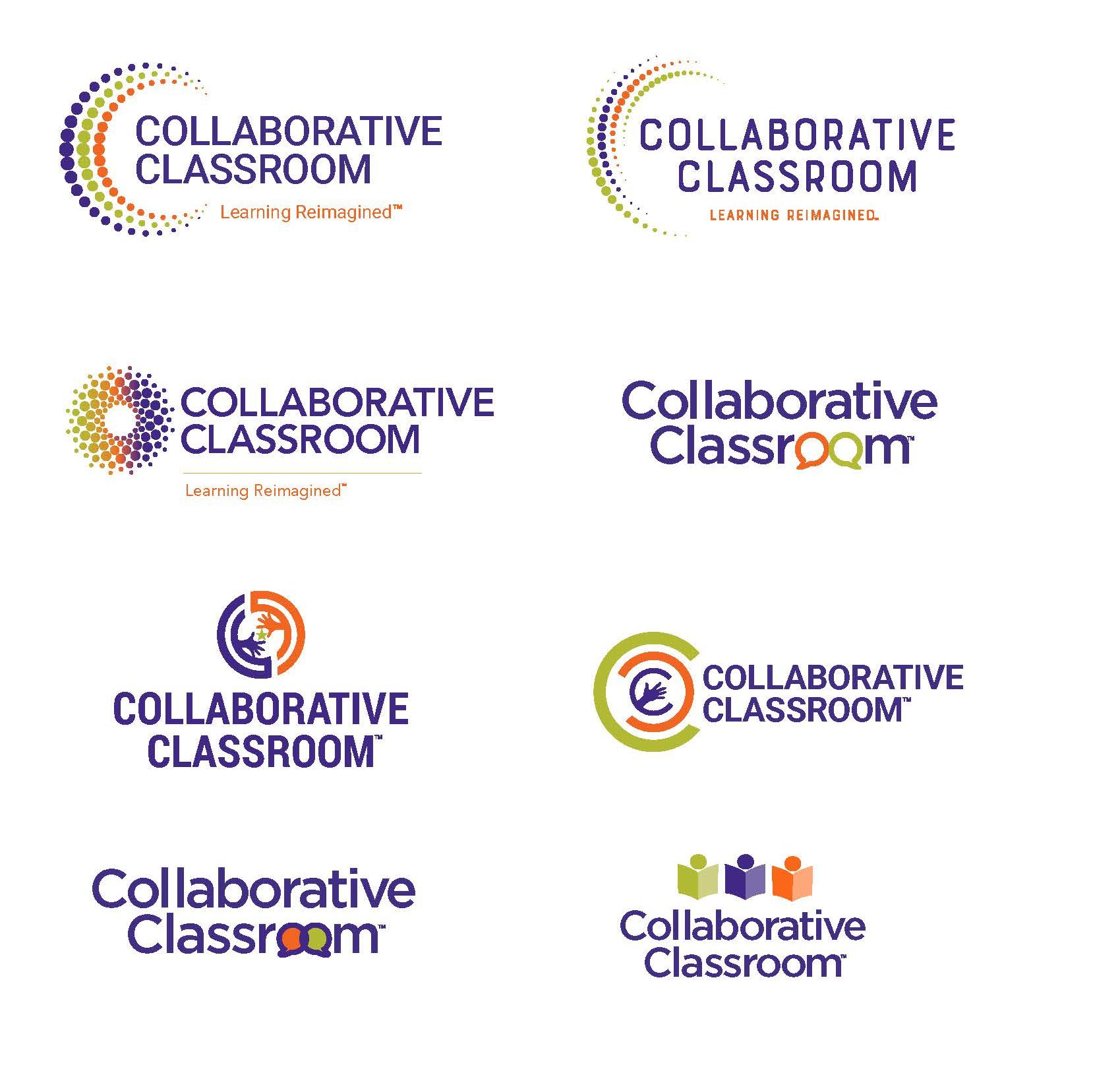 Collaborative Classroom logo mockups