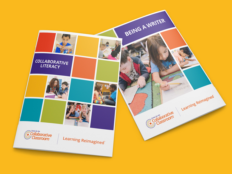 Collaborative Classroom brochure covers