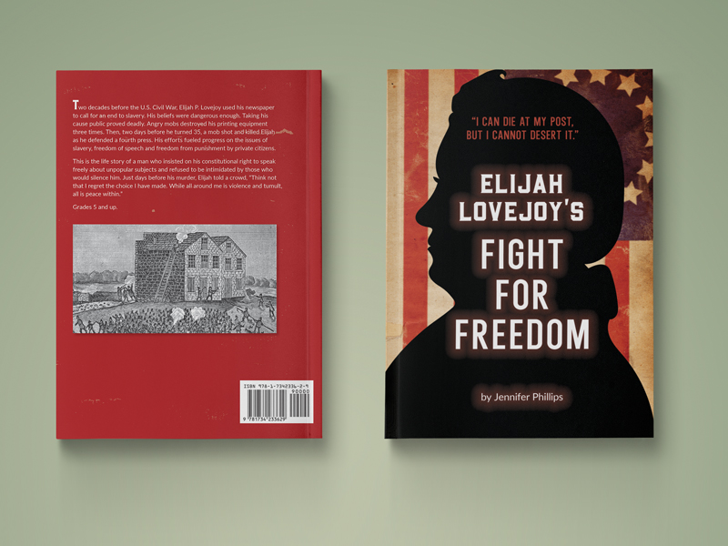 front and back book cover