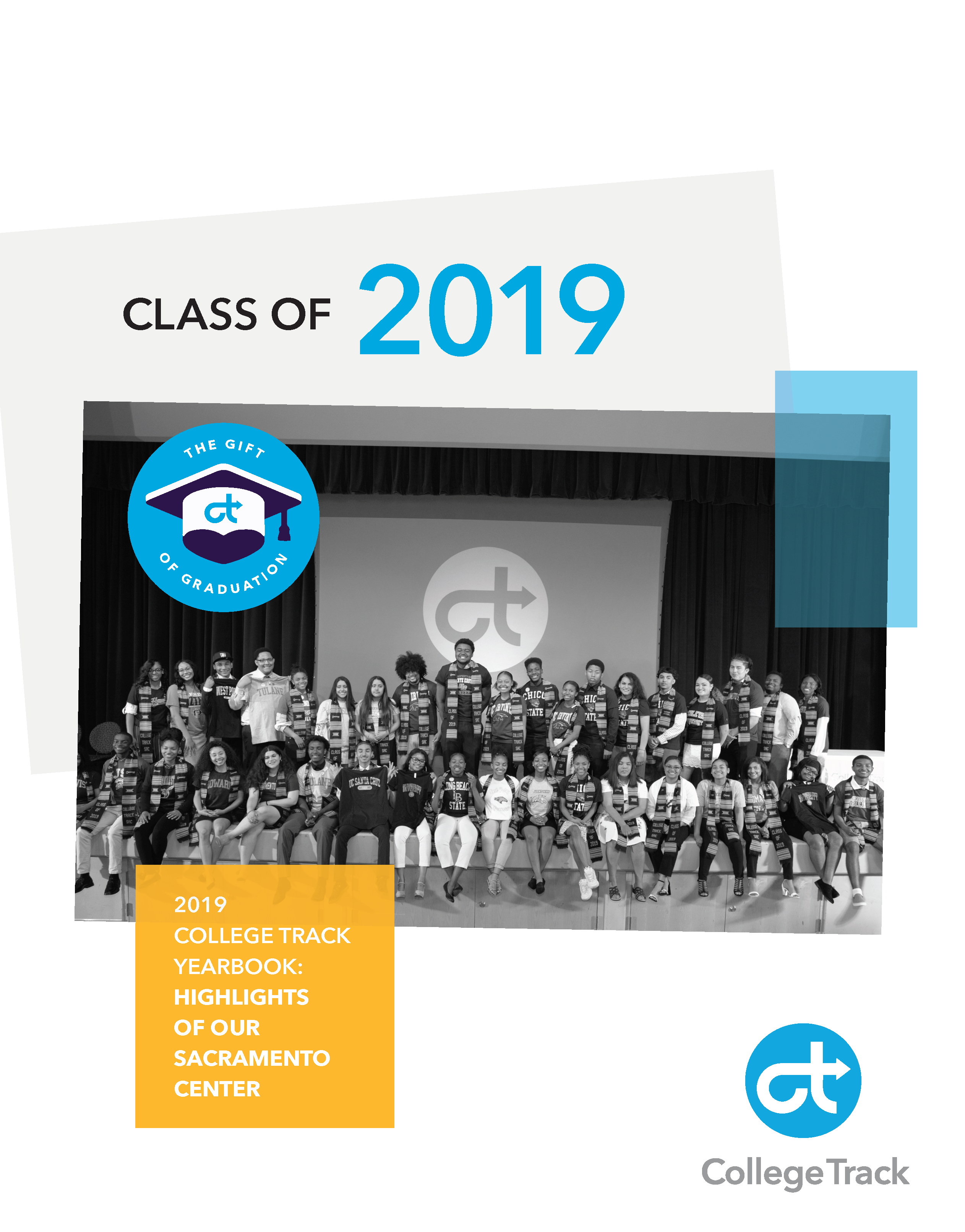 Gift of Graduation yearbook cover options