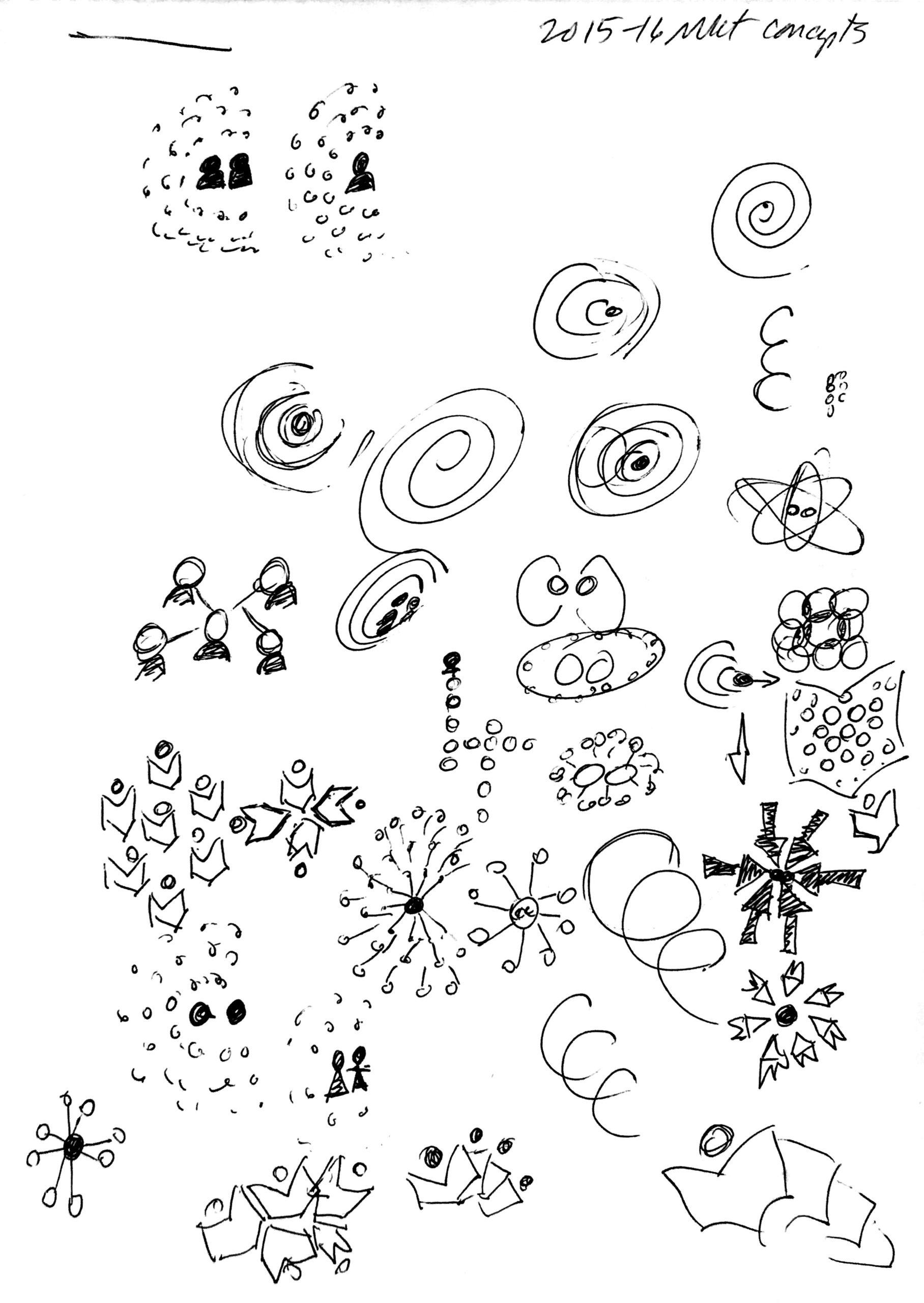 Collaborative Classroom logo sketches