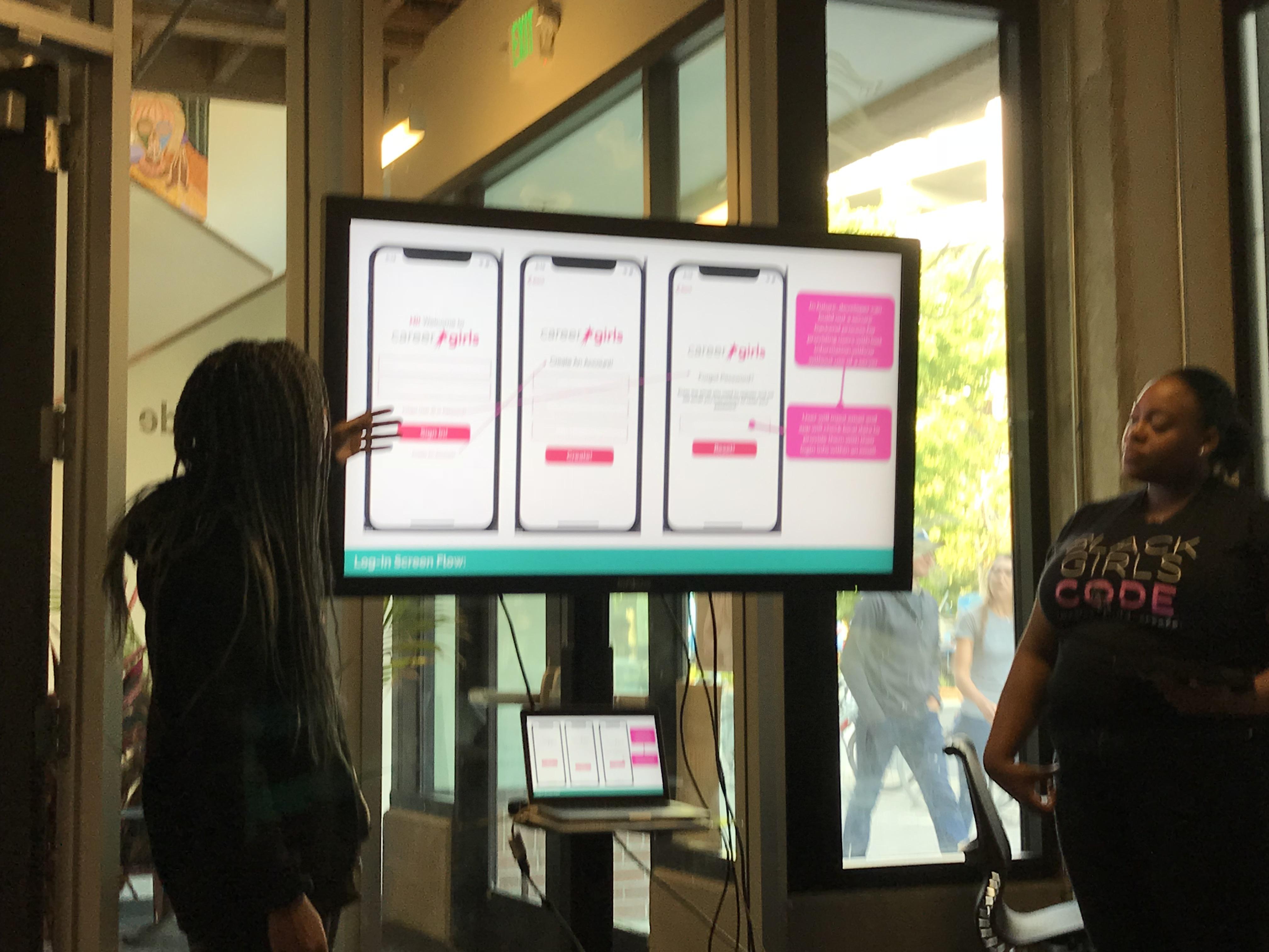 mobile app live presentation