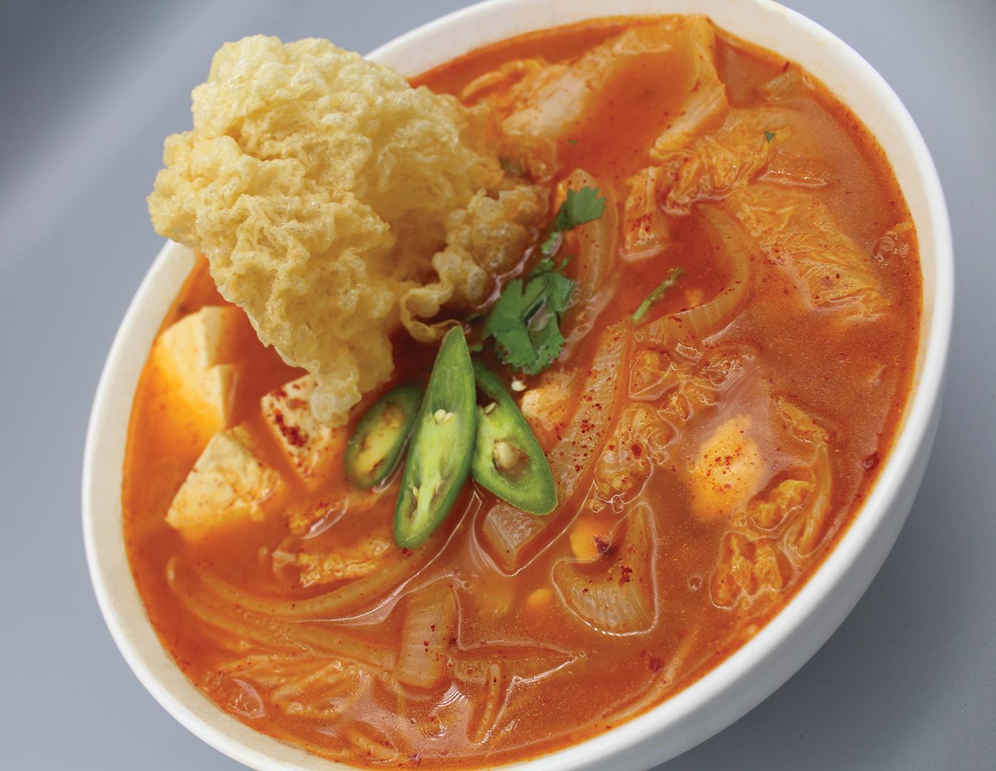 The Pots Kimchi Noodle Soup