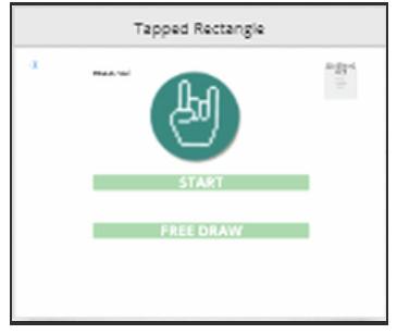 handwriting app wireframe
