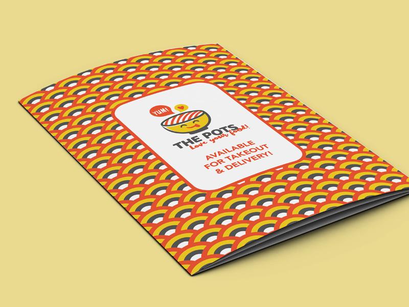 The Pots menu cover