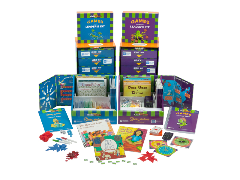 all four afterschool kidzmath kits