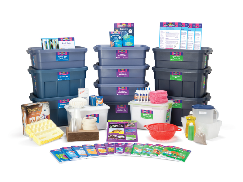 all 15 science kit tubs