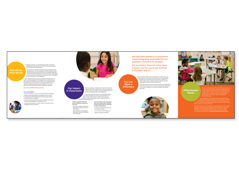 brochure fold-out spread
