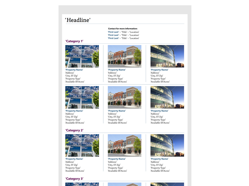 website template property search page