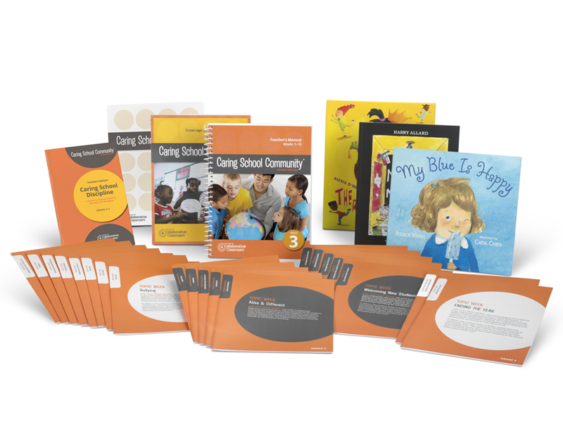 teacher's package with books and lesson cards