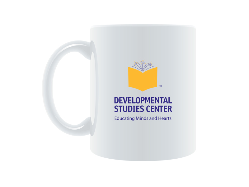 logo on coffee mug