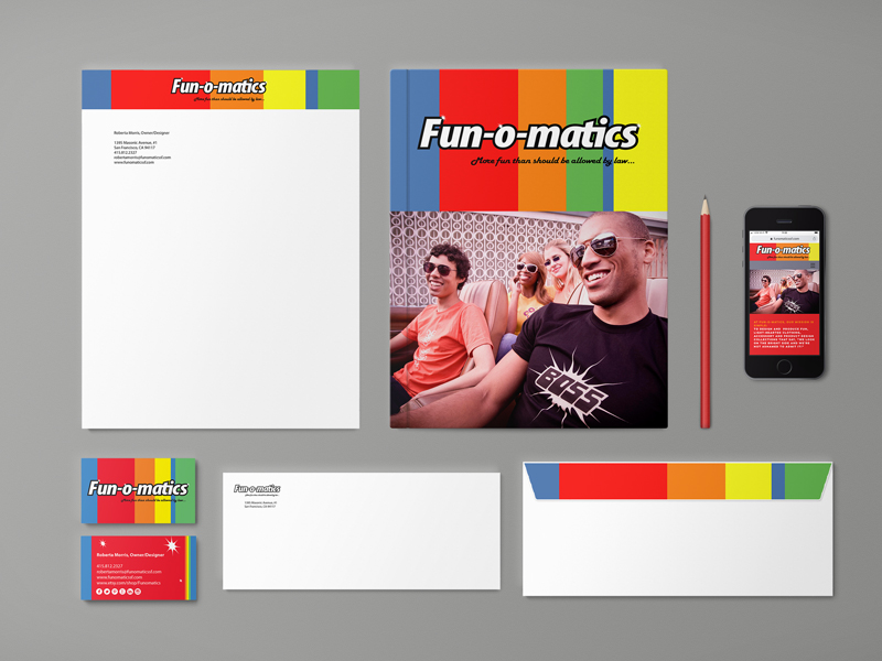 Fun-o-matics identity package