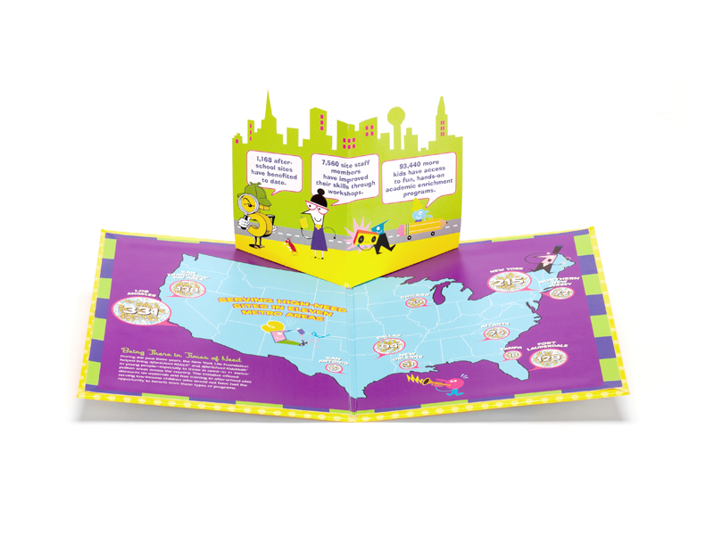 pop-up book inside