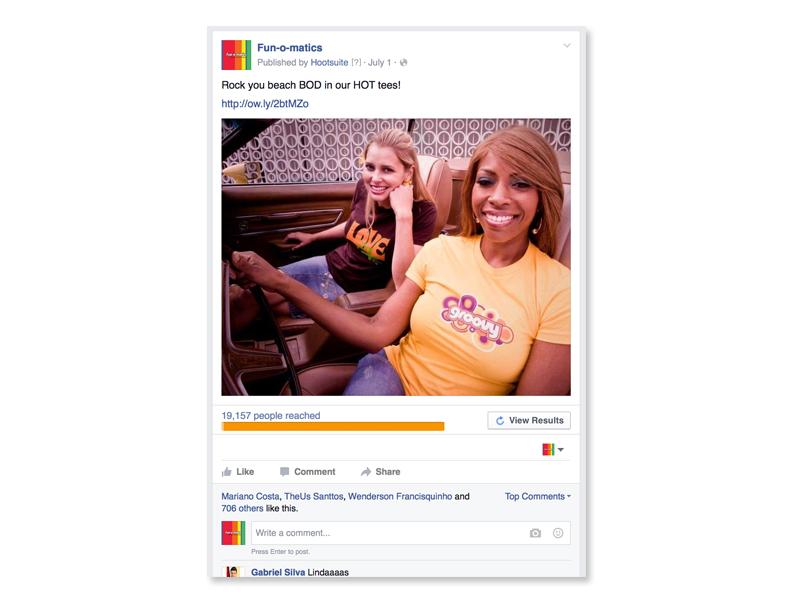 Supaflarez Facebook ad