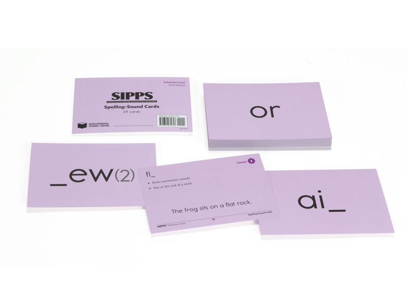 hand-held flash cards