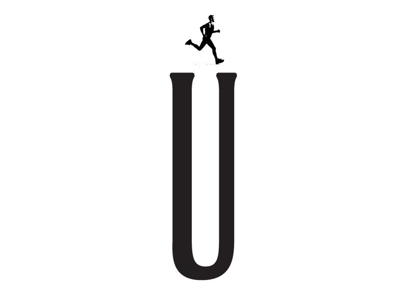 Urbathon triathon logo series