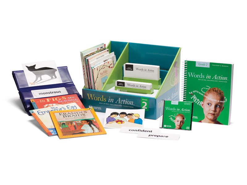 teacher's package showing components