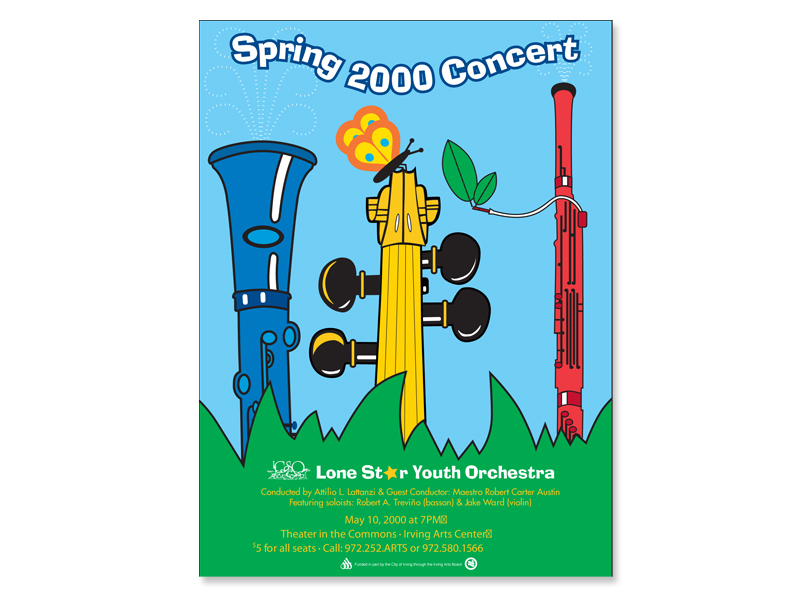 youth concert poster
